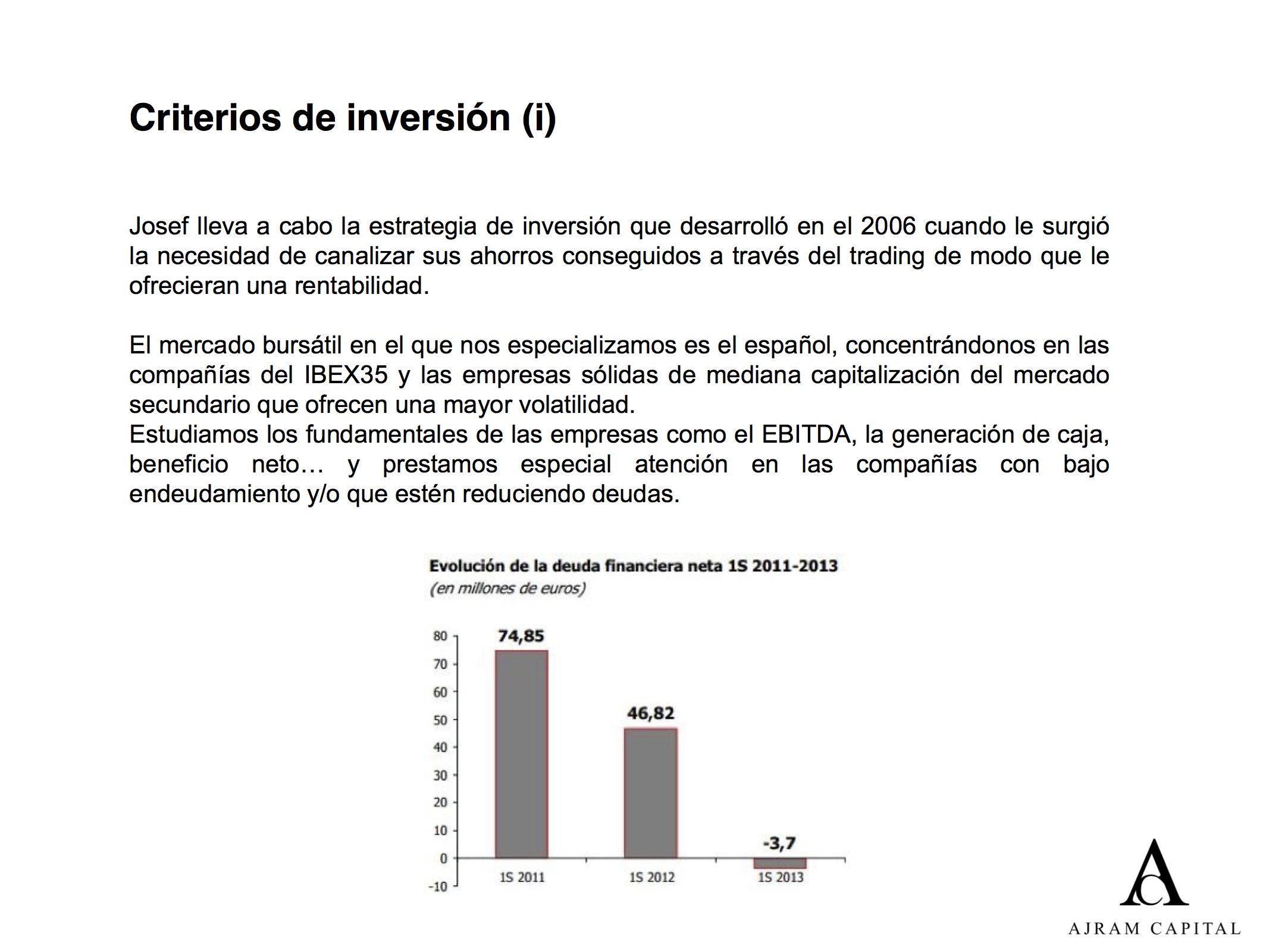 AJRAMCAPITAL_Criterios de inversión 1