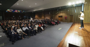 Josef Ajram conferencia UEMC Valladolid 2018