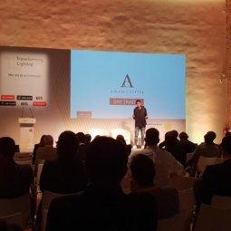 Josef Ajram conferencia transforming lighting 2018