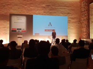 Josef Ajram conferencia transforming lighting 2018